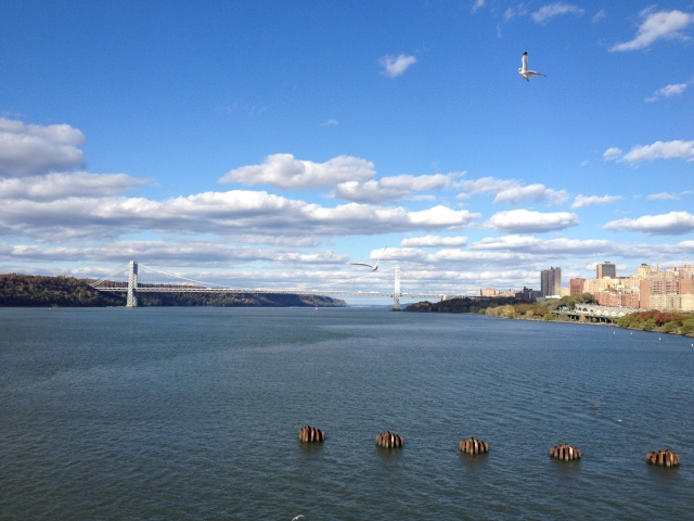 View of George Washington Bridge