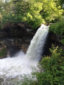 Minnehaha Falls next to Sea Salt