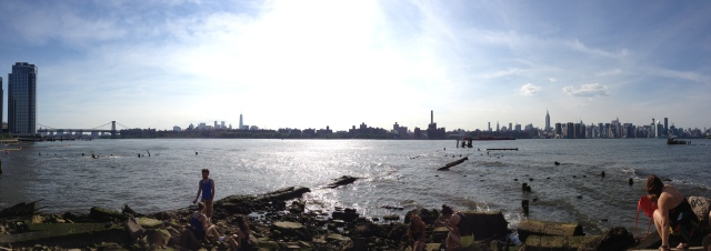 Manhattan from the Williamsburg Waterfront